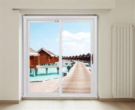 Tropical Over Sea Water Villas Roller Blinds For Your Patio Door Roller Blinds