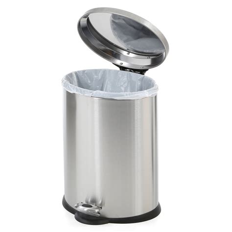 Kitchen Kitchen Trash Can Throughout Splendid Automatic Garbage Can For Kitchen