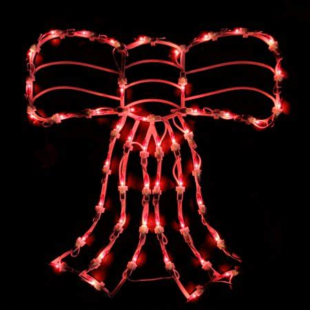 illuminated red bow window silhouette 14 quot lighted bow window silhouette decoration walmart