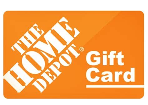 Homedepot Gift Card - the home depot gift card badcarcredit com