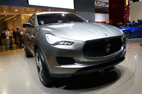 suv maserati iaa 2011 maserati s jeep based but ferrari powered kubang