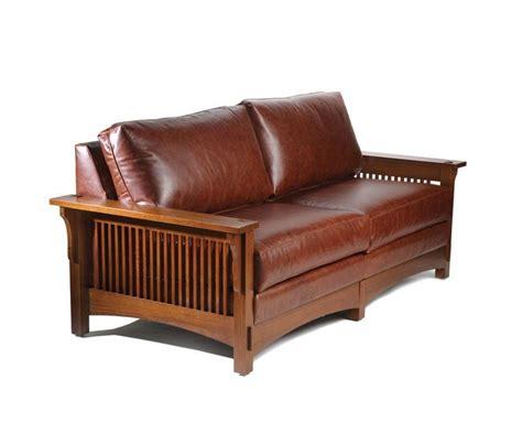 craftsman sofa craftsman style sofa