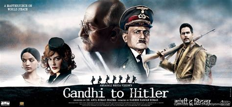 hitler biography in hindi movie gandhi to hitler movie review nettv4u com