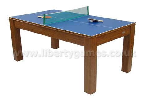 Mars Tables by Gamesson Mars Combo 6 Foot Multi Table Liberty