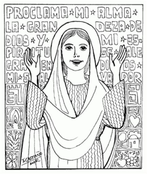 imagenes sencillas de la virgen maria dibujos de la virgen maria
