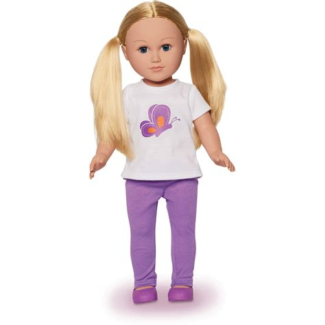 my doll my as 18 quot instructor doll walmart