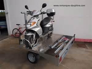 remorque moto transversale occasion courroie de transport