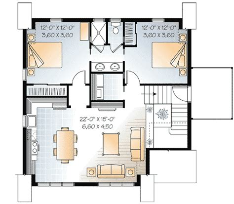 garage apt floor plans architectural designs