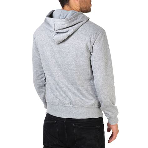 Jaket Hoodie Fleece mens plain basic zip up fleece hoodie hooded cotton
