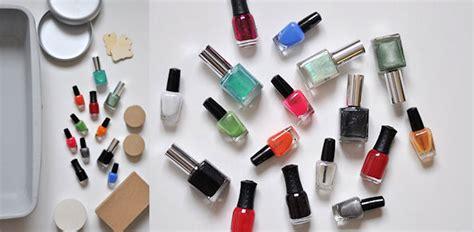 diy marbling  nail polish