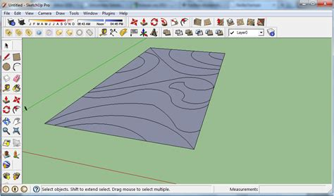 membuat video animasi dari sketchup gambar lagi gambar lagi membuat kontur dengan sketchup