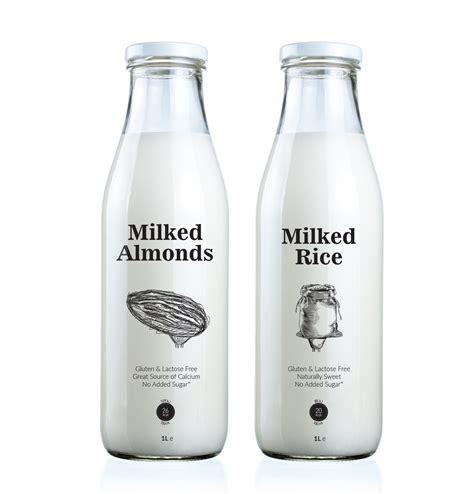 design rice milk vegan milk packaging vegan branding packaging designer
