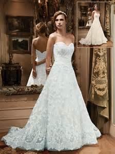 aline lace wedding dresses lace aline wedding dress