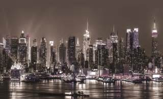 New York City Wall Murals New York City Skyline Urban Photo Wallpaper Wall Mural