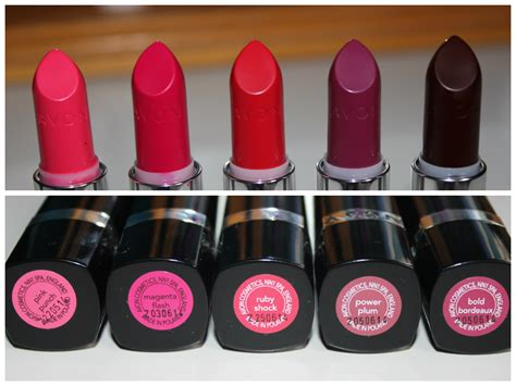 Avon Lipstick Bright Nectar brand new avon ultra bold lipsticks review and swatches pale and