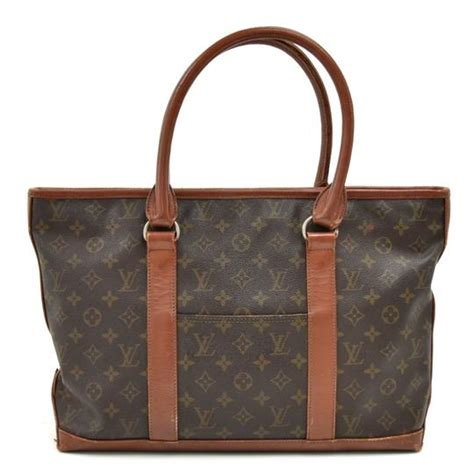 louis vuitton sac weekend bag vintage monogram brown