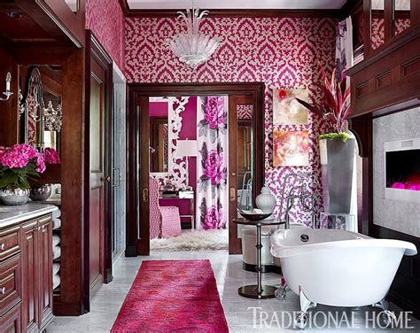 brian alan kirkland hot pink bathroom aso showhouse