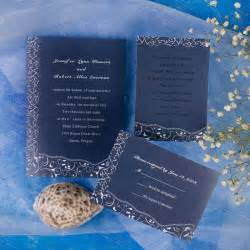 printable blue floral inexpensive wedding invites ewi130 as low as 0 94