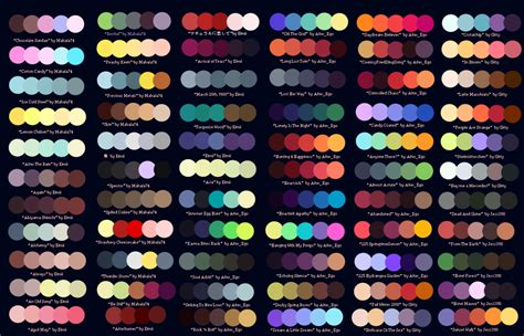color colour color palettes favourites by love captainadopts on deviantart