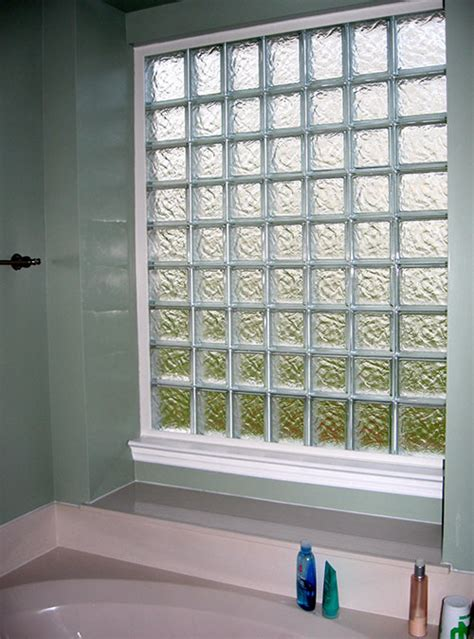glass block windows for bathrooms glass blocks for bathroom windows in st louis