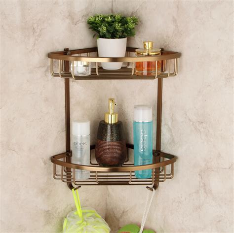 bathroom accessories corner shelf aliexpress com buy space aluminum antique bathroom