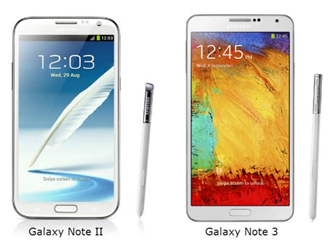 galaxy note 3 vs doodle 2 samsung galaxy note 3 versus the galaxy note ii what s