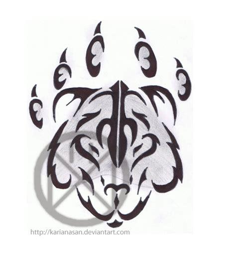 bear tribal tattoos tribal tattoos