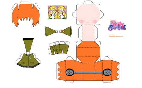 Anime Papercraft Template - chibi anime papercraft 28 images chibi cirno