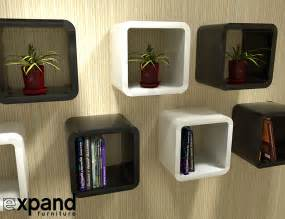 Unique Wall Shelves by 2121x2 Unique Cube Wall Shelves Expand Furniture