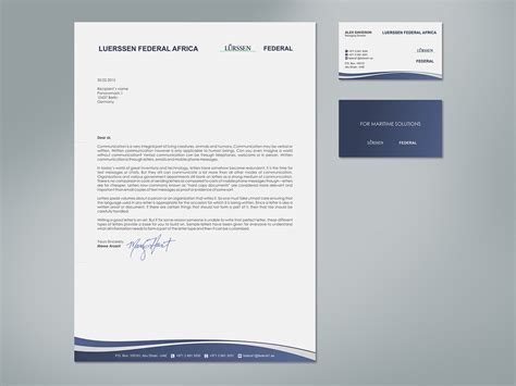 Official Letter Paper Playful Letterhead Design For Aziz Tohme By