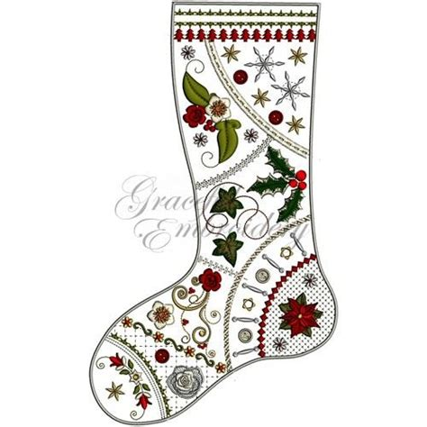 pattern for crazy quilt christmas stocking 1000 images about embroidery on pinterest embroidery