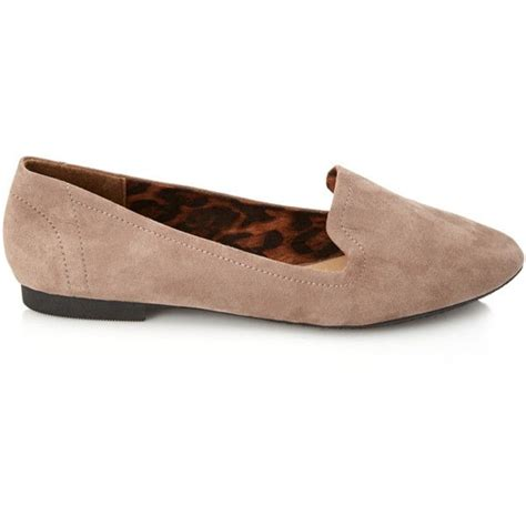 polyvore loafers forever 21 faux suede loafers 20 liked on polyvore