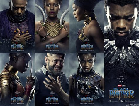 film marvel black panther character posters to marvel s black panther blackfilm