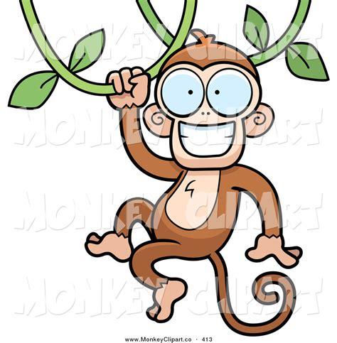 monkey swinging clipart monkey swinging clip art gallery