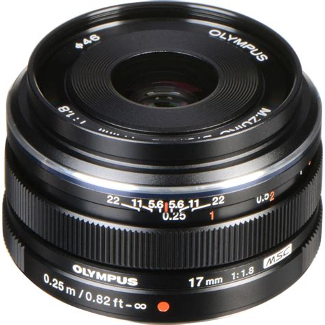 olympus m zuiko digital 17mm f 1 8 lens black