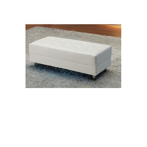 white leather ottoman storage white leather ottoman simpli home avalon large