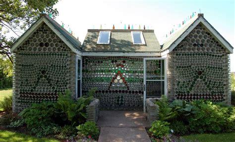 bottle house next in sustainable living beer bottle houses