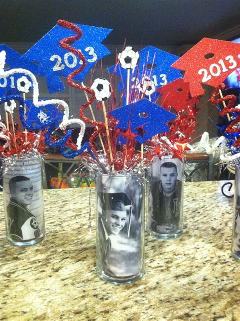 15 best images about graduation centerpieces on pinterest