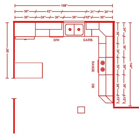kitchen layouts by size kitchen layouts dimension home christmas decoration