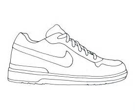 shoe coloring pages free coloring pages of running shoe