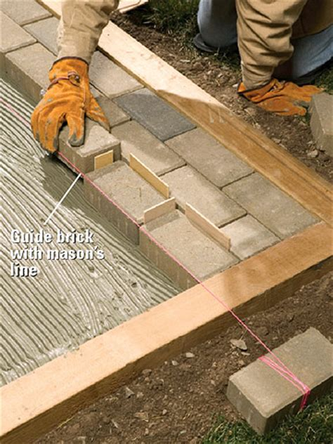 How To Install A Brick Patio by Mortared Brick Patio Sand Set Mortared Patios