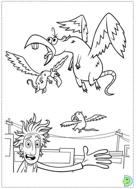 coloring book soundcloud chance cloudy with a chance of meatballs coloring page dinokids org