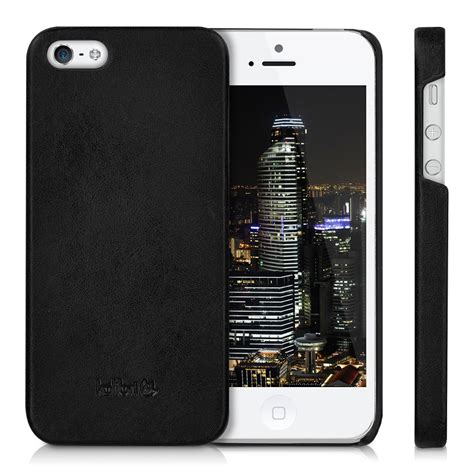 kalibri leather for apple iphone se 5 5s back cover