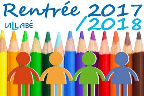 E Scolaire 2017 2018 Inscriptions Scolaires Pour La Rentr 233 E 2017 2018