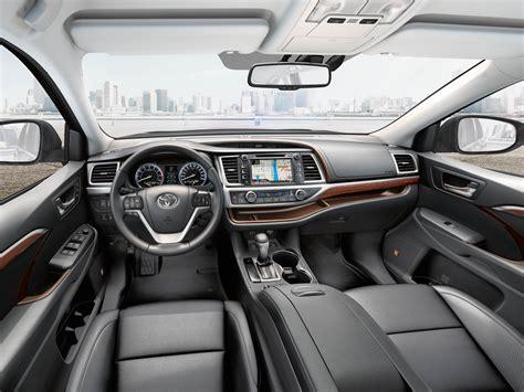 toyota highlander 2017 interior 2018 toyota highlander latest updates specs release