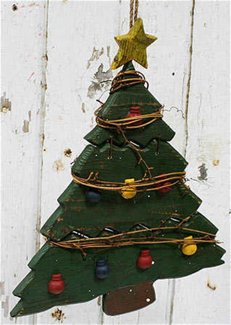primitive rustic wooden christmas tree christmas and