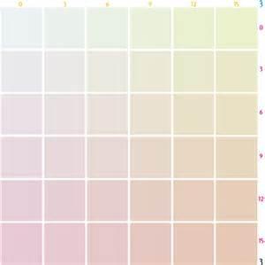 pastel color codes color of pastels