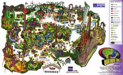 six flags magic mountain map critical section monday august 25 2003 10 01 pm