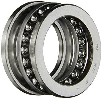 Thrust Bearing 51107 Koyo skf 51107 single direction thrust bearing 3 grooved race 90 176 contact angle abec 1