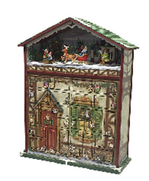 advent wooden calendar